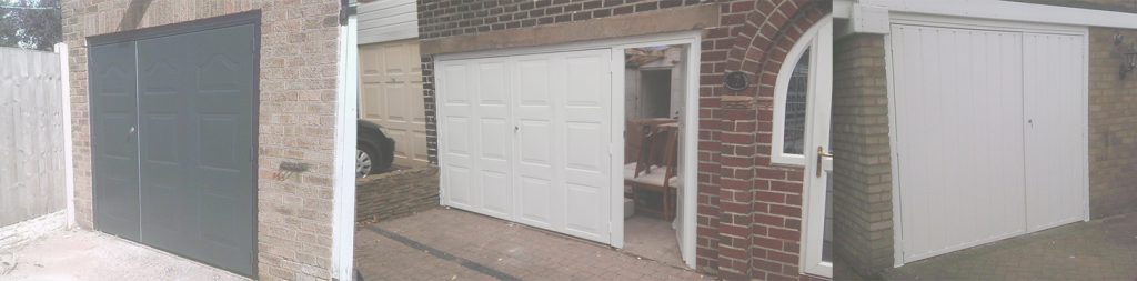 Pedestrian garage doors which may also be referred to as garage doors with a wicket door are the number one solution for garage owners who desire ... & Garage Doors with Doors in them - Pedestrian Garage Doors pezcame.com