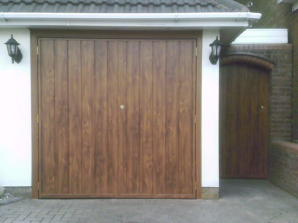 Wooden Garage Doors Side Hinged Double Roller Walsall