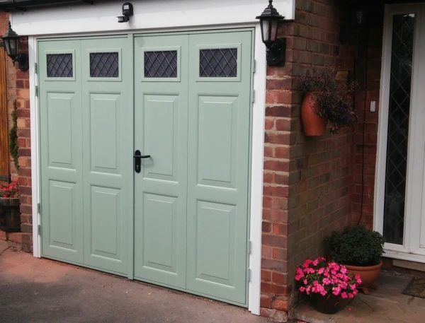 Side Hinged Garage Doors Supplier Low Prices From 690