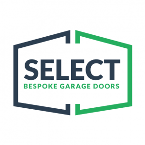 select garage doors logo