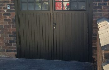 Cardale Side Hinged Garage Door September 18