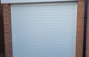 SWS White Roller Garage Door Oct 18