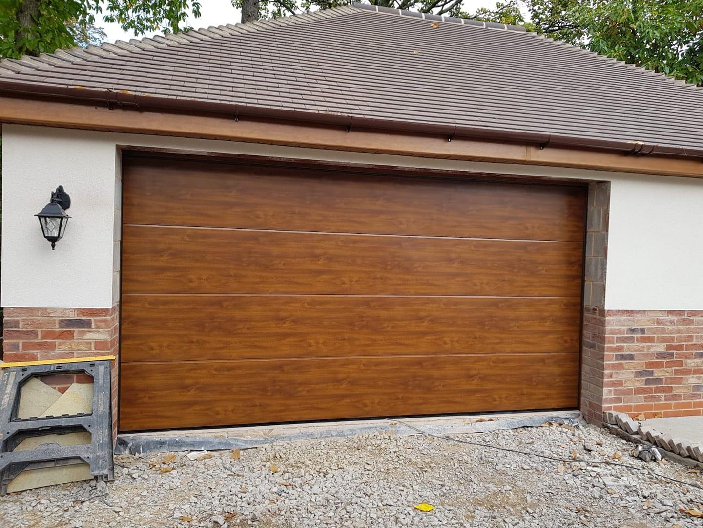 Hormann Wooden Sectional Garage Door Oct 18 Wm Garage Doors