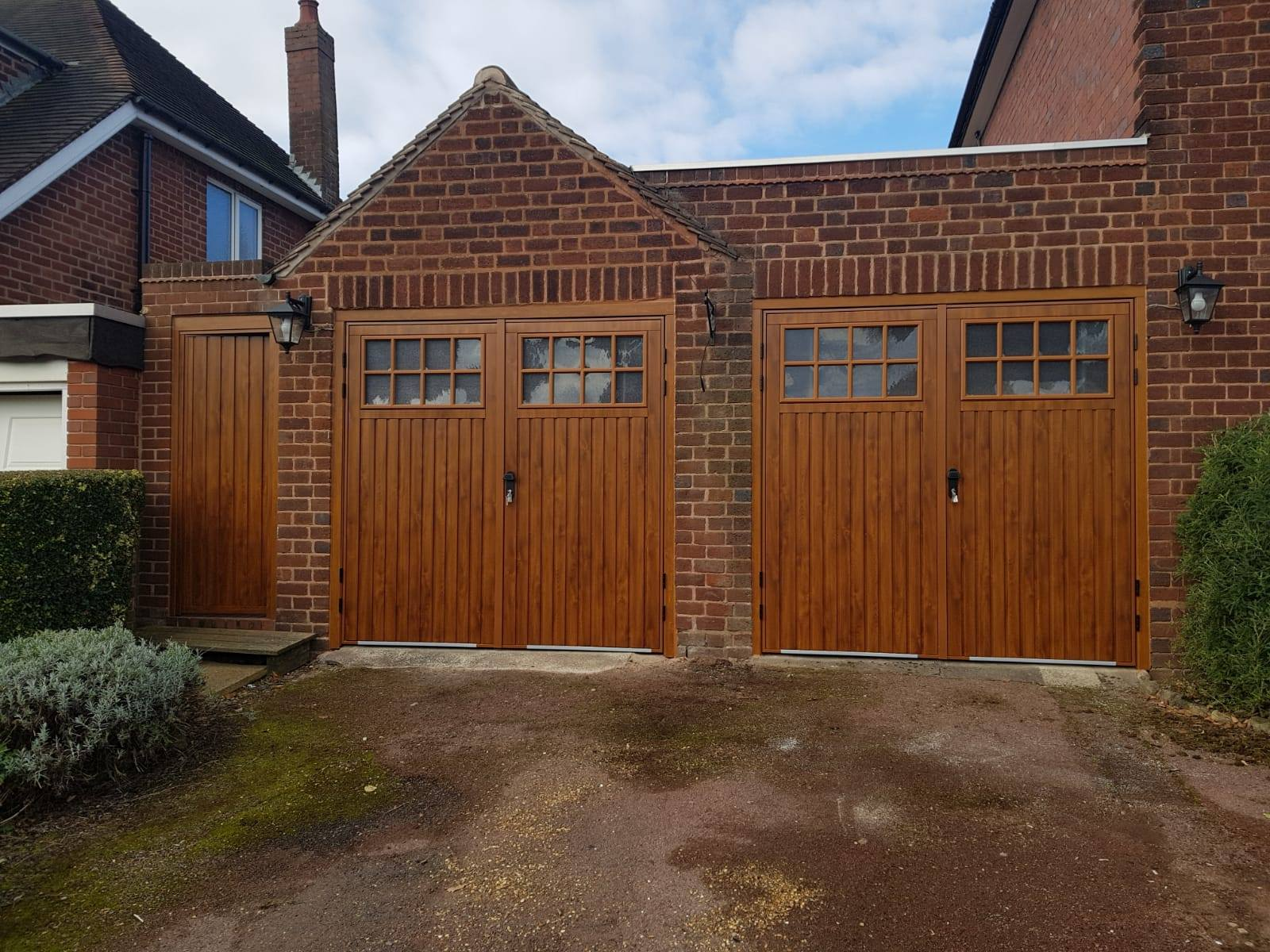 Cardale Wooden Side Hinged Garage Doors Nov 18